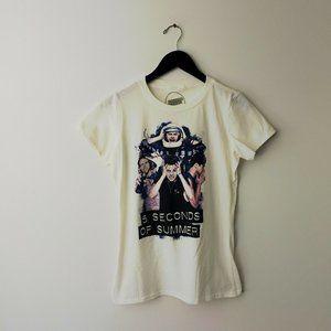 5 Seconds of Summer Graphic Tee Shirt Pop Tour M